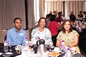 Nirvash Babulall (Goldunes Investments), Bernice Clarisse, Roidha Shaik (Broll)