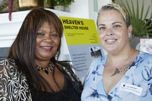 Zulpha Morris(Heaven Shelter House), Lee-Ann Bell  (Excellerate Brand Management)
