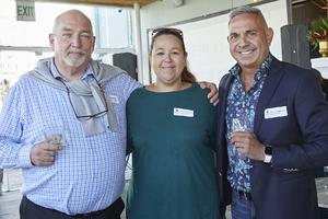 Tony van Heerden(Optimal Property Solutions), Bronwyn Bartnick(Excellerate JHI), Marius van Loggerenberg(Teplo-Hol)