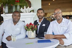 Thobela Mangcengeza, Aphiwe Cezula, Andrew Dotwana(Enethini Group)
