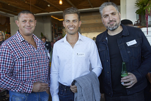 Johan Hefer(Excellerate JHI), Nicol van Wyk(CBRE Excellerate), Shane Dryden(Yuppiechef)