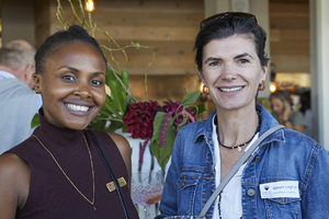 Amanda Dilima(V & A Waterfront), Renee English(Growthpoint Properties)