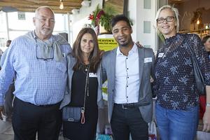 Tony van Heerden(Optimal Property Solutions), Alex Pina(McDonalds SA), Tyrel Lakay(JHI Retail), Sanett Uys(Serendipityremix)