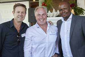 Brad Dixon(Collaboration Site), Johan Weich(Retail Store Activate), Sivene Lolwana (Woolworths)