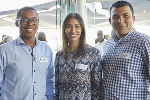 Sipho Evans, Nadine Adonis, Alistair Amos(Capital Land Property Asset Management)