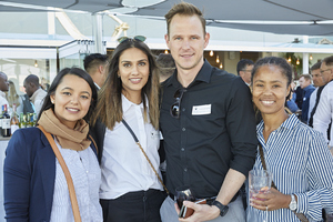 Ilhaam Enous, Ambreen Saloojee-Brey, Justin McCarthy(Fairvest Property Holdings), Chandre Jacobs (V & A Waterfront)