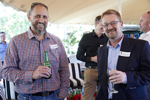 Ronald Nothnagel(FM Solutions), Gerhard Janse van Rensburg(Grinnell Security Services)