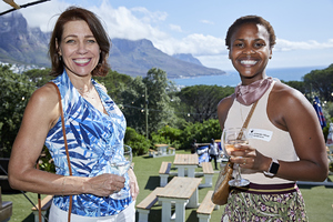 Marina Bartel(Growthpoint Properties), Amanda Dilima(V & A Waterfront)