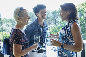 Joanne Boswell(Spire Property Management), Renee English(Growthpoint Properties), Marina Bartell(Growthpoint Properties)