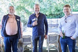 Tony van Heerden(Optimal Tenders), Christian Bam(Christian Bam Architects), Jedd Grimbeek(Mitchell du Plessis Projects)