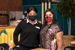 Nomkita Peterson(City View) & Kereshnee Acharee (Mustard Seed relationship Marketing)