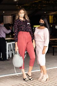 Lisa Folkard & Claudia Moodley (The Pavilion Shopping Centre)