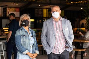 Nisha Kemraj(The Pavilion Shopping Centre) & Miles Taylor(JT Ross)