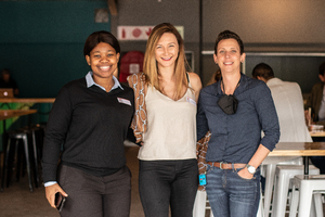 Nomkita Peterson(City View), Kellie Ettmayr & Michelle Gerber(Growthpoint Properties)