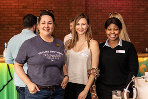 Vanessa Blevins, Kellie Ettmayr(Growthpoint Properties) & Nomkita Peterson(City View)