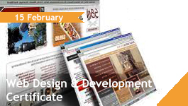 Web Design & Development Certificate