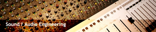 sound audio engineering staff header