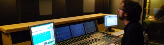 Neve DFC film mixing studio SAE London