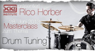 Rico Horber Drum Tuning Workshop
