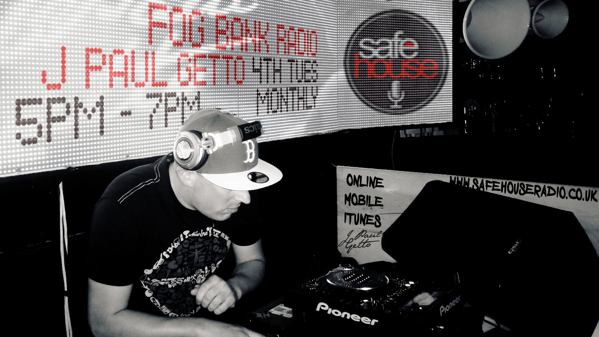 Fogbank J Paul Getto www.safehouseradio.co.uk
