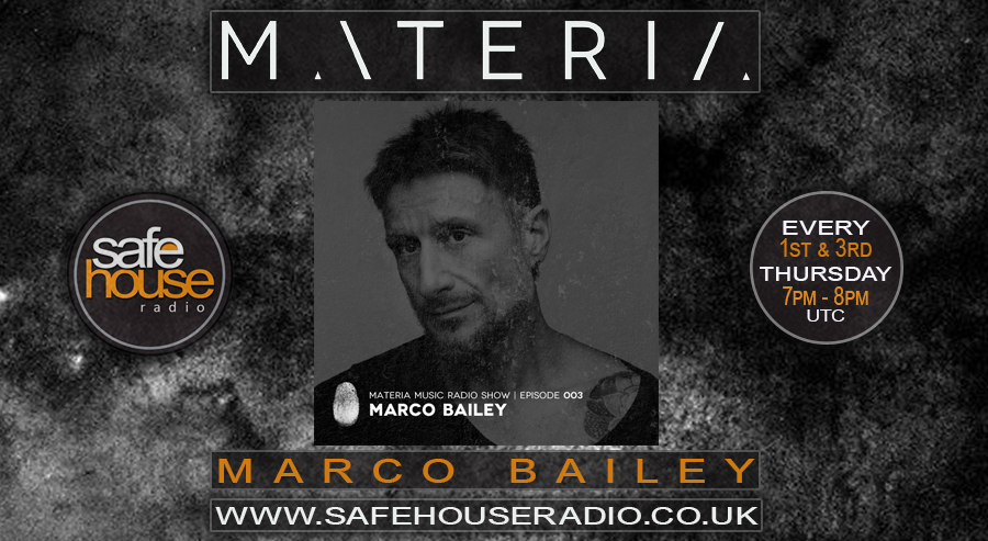 Marco Bailey www.safehouseradio.co.uk