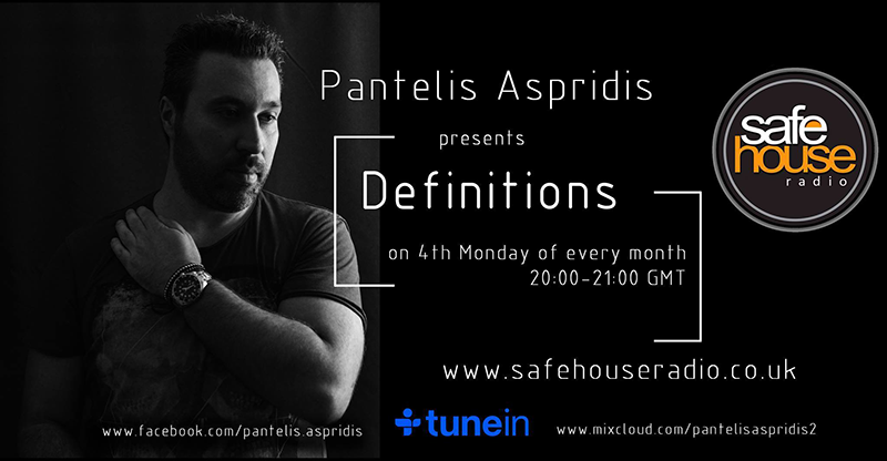 Pantelis Aspridis Definitions on Safehouse Radio