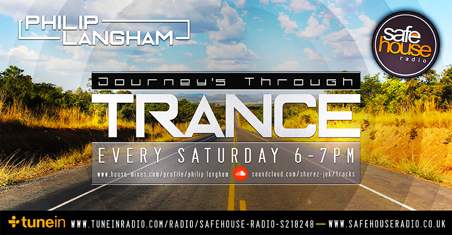 Philip Langham Journeys through trance on Safehouse Radio
