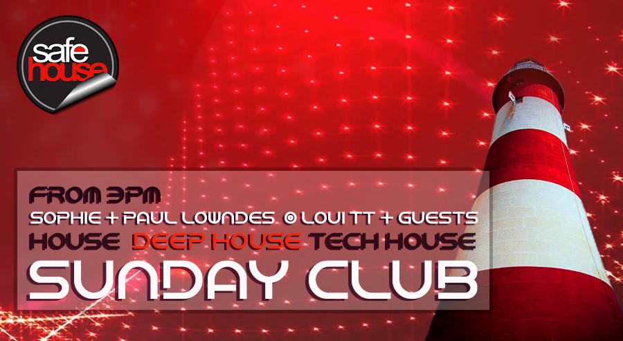Sunday Club Live on Safehouse Radio