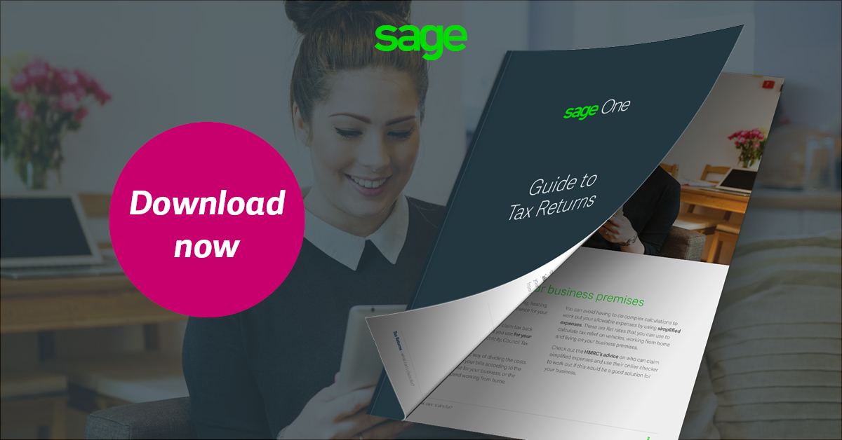 File your Self-Assessment Tax Return online using Sage One
