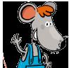 Tim die Maus winkt