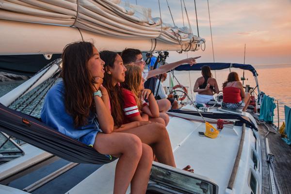 Familie: Segelurlaube mit Skipper