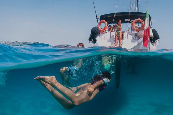 Vacanze in barca a vela con i bambini