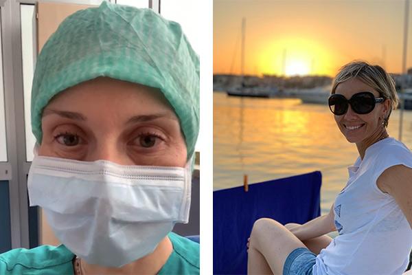 Francesca G. in barca a vela - Progetto Grazie1000