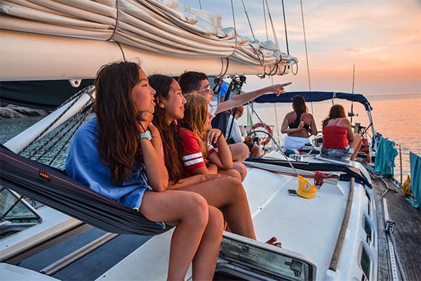 Navegar a vela por el Mediterráneo