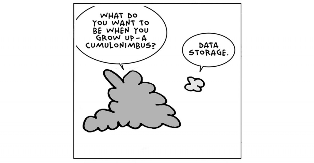 Cloud computing joke