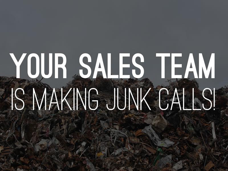 Junk sales calls
