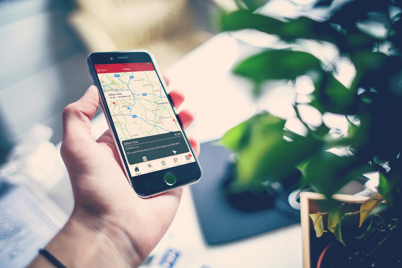 iOS Plot to maps