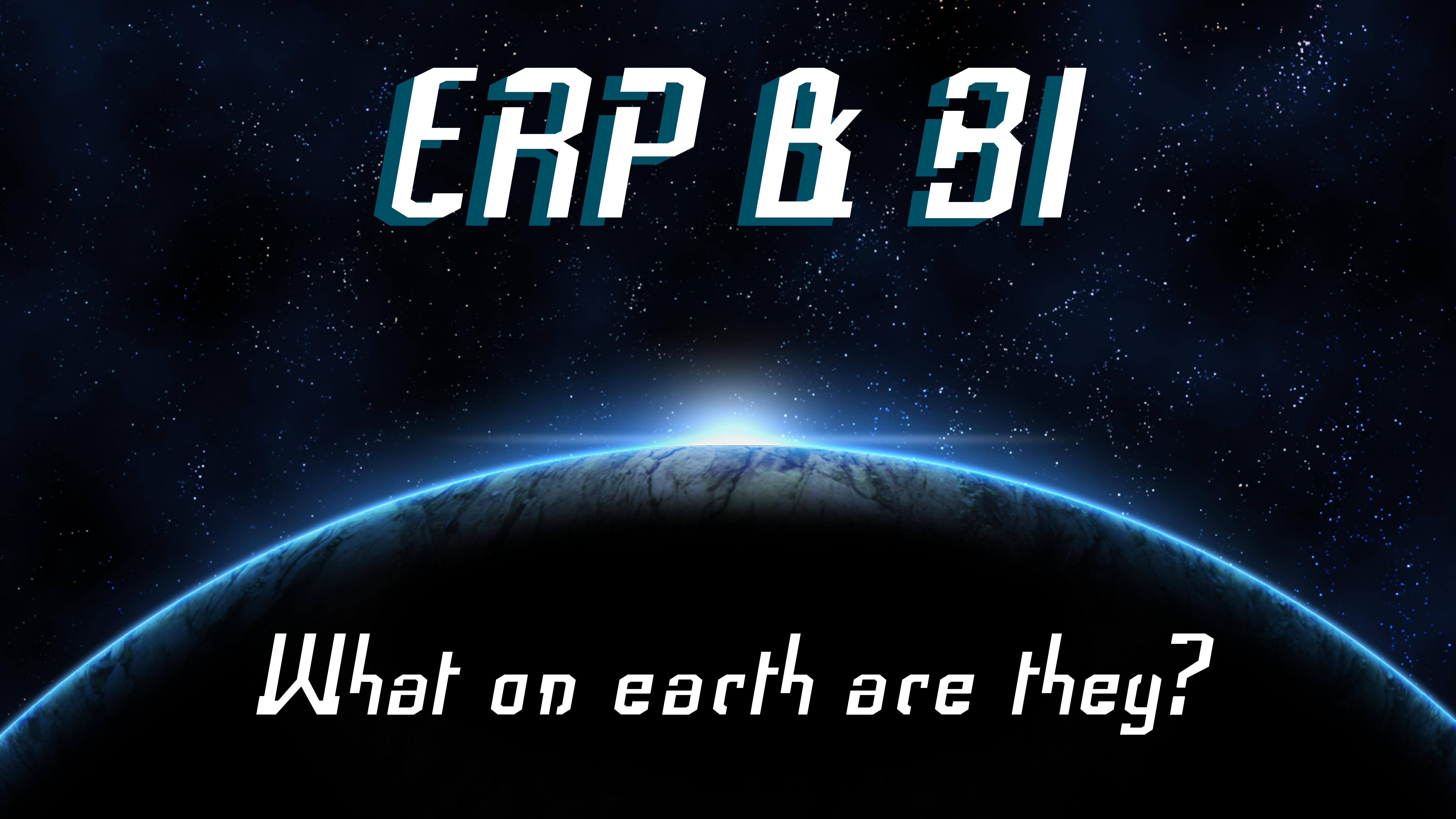 ERP and BI slideshare