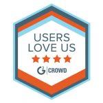 users love logo