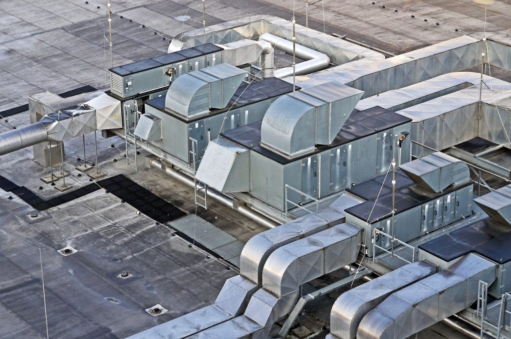 hall-roof-HVAC