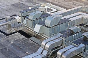 hall-roof-HVAC