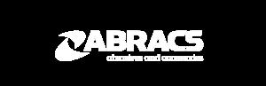 Abracs white logo