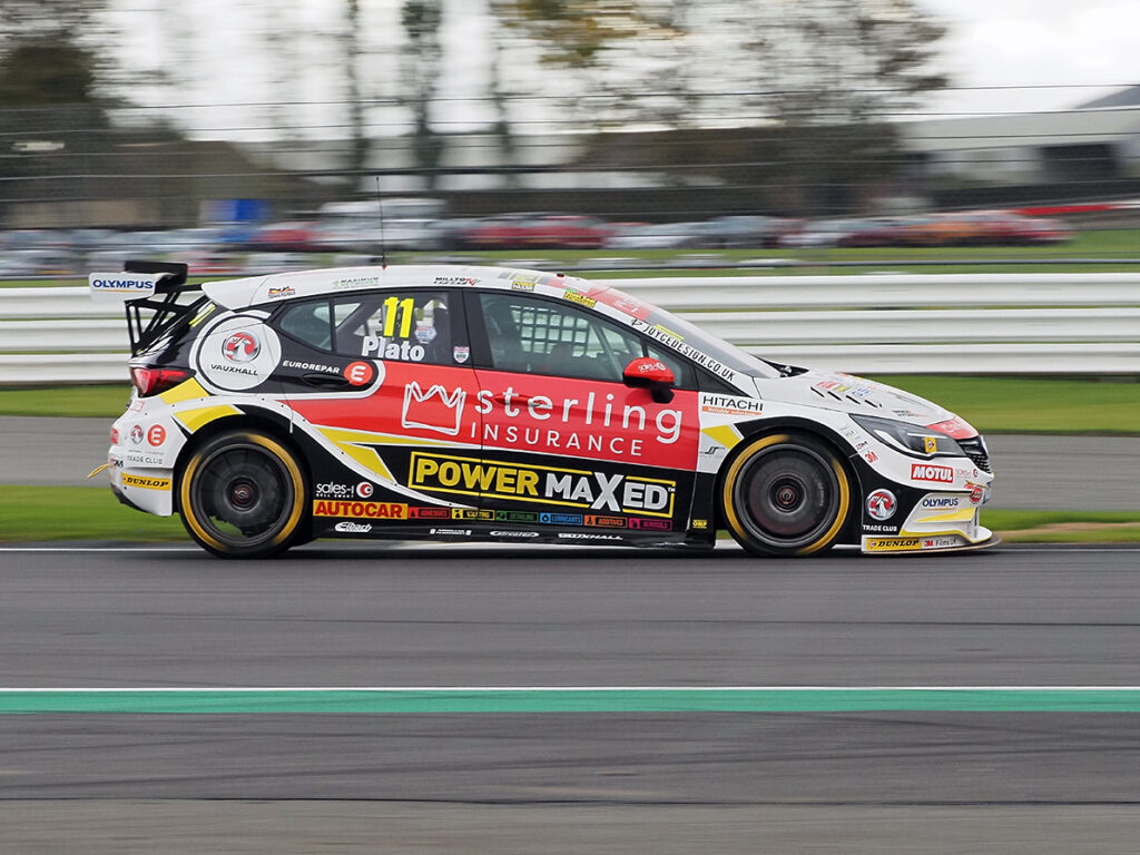 Jason Plato at BTCC Brands Hatch