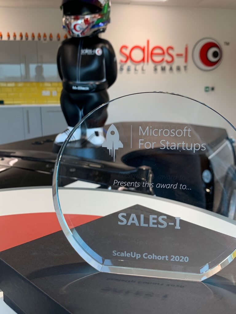 sales-i awarded with Microsoft ScaleUp Cohort 2020.