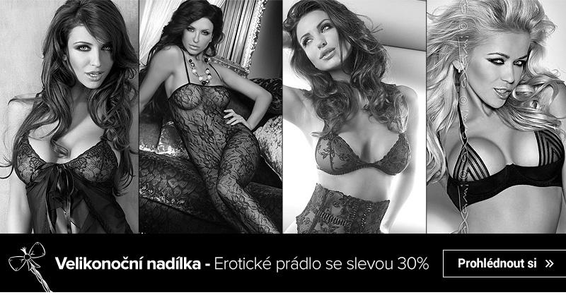 Velikonoční nadílka - Erotické prádlo se slevou 30%