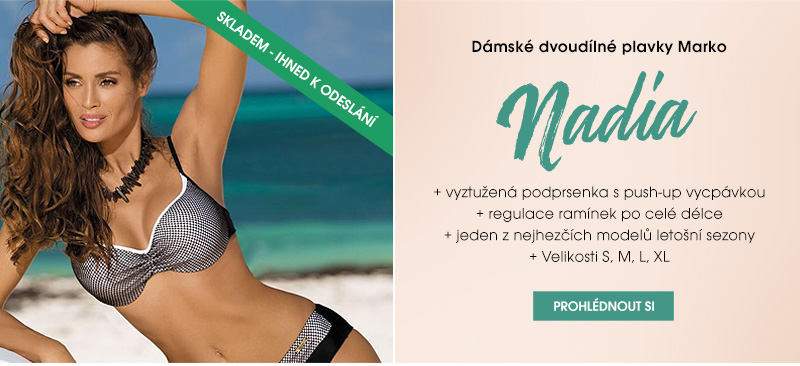 Dámské dvoudílné plavky Marko Nadia