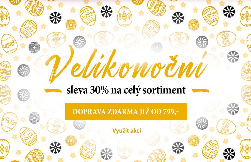 Velikonoční sleva 30% na celý sortiment