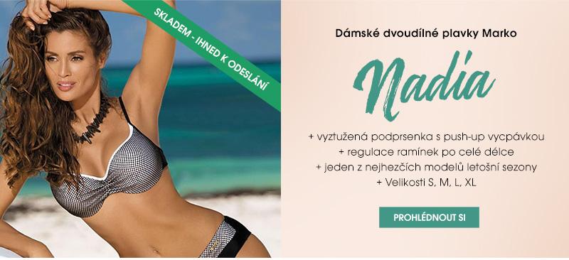 Dámské plavky dvoudílné Marko Nadia