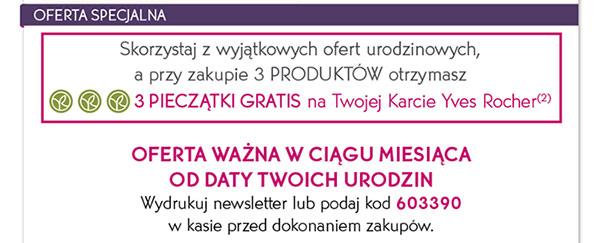 Świeże Znajdź swój najbliższy sklep na www.yves-rocher.pl Zobacz tę TS11