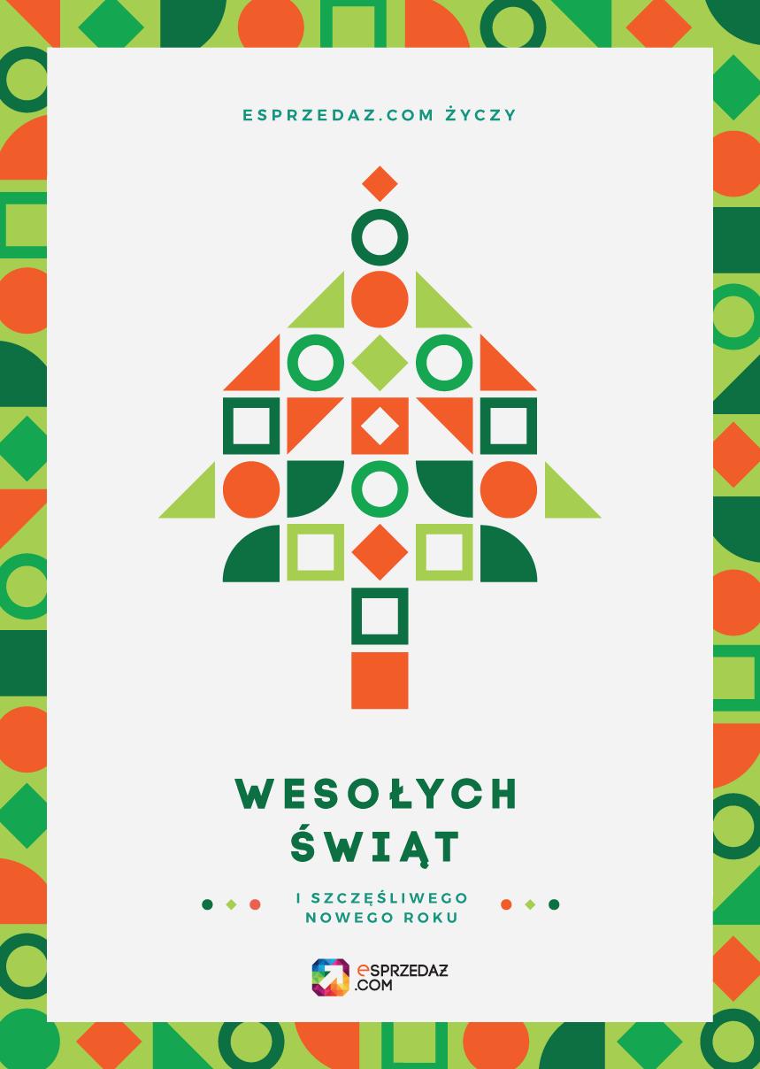 Kartka z życzeniami świątecznymi